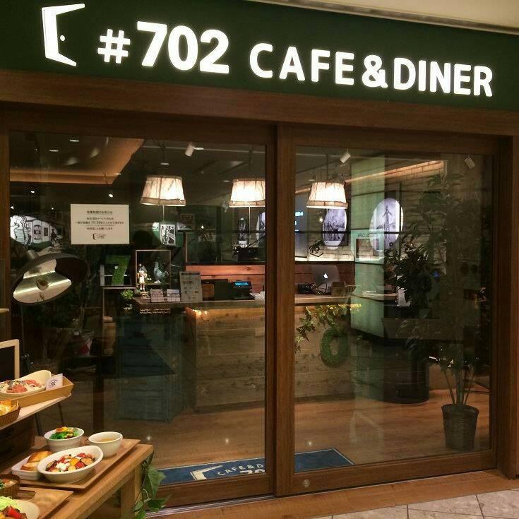 #702 CAFE&DINER店内