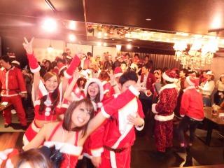 夜遊びクリスマスパーティー岡山