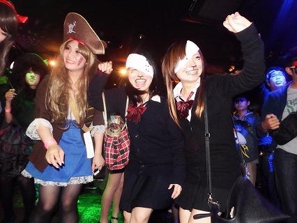 夜遊びハロウィンパーティー開催風景2