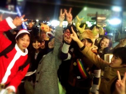 夜遊びサンタ神戸開催風景9