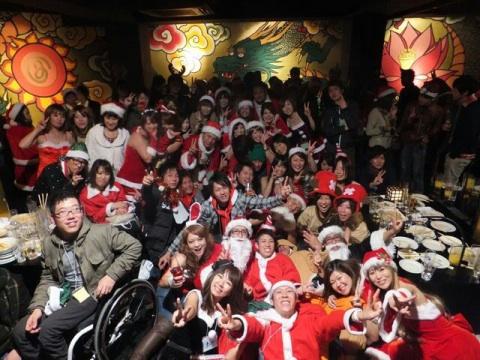 夜遊びサンタパーティーin福岡