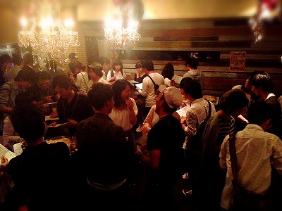 夜遊びパーティーin岡山開催様子