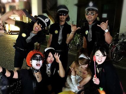 夜遊びハロウィンパーティーin岡山開催様子