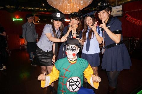 夜遊びハロウィンパーティin大阪の様子