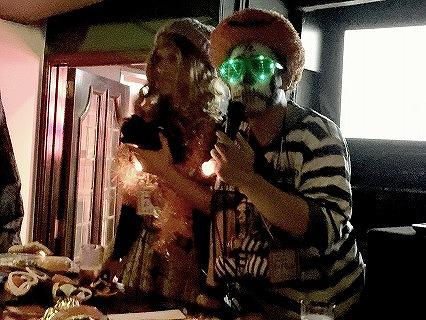 夜遊びハロウィンパーティーin東京開催様子