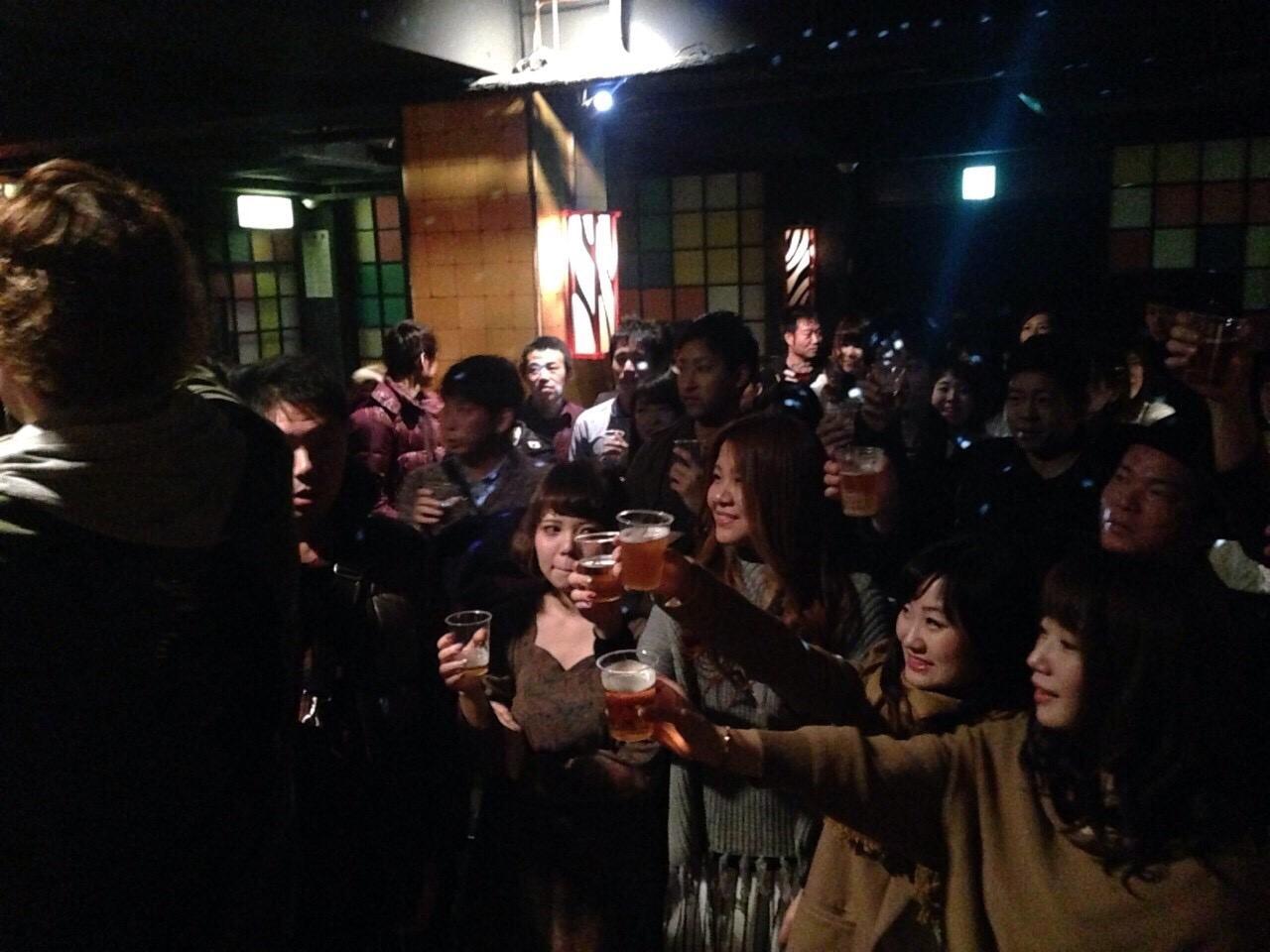 コラボ新年会in岡山開催様子