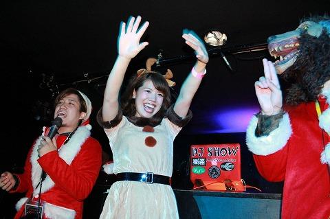 夜遊びサンタパーティーin岡山開催様子