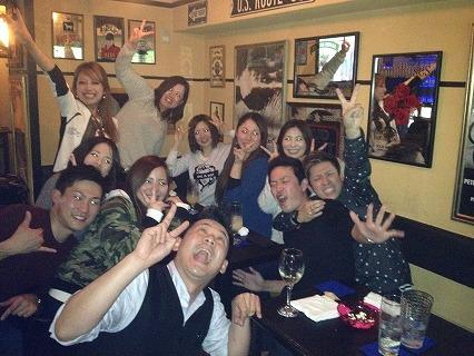夜遊びパーティーin広島様子