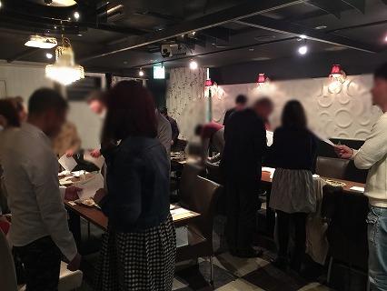岡恋パーティー開催中の様子