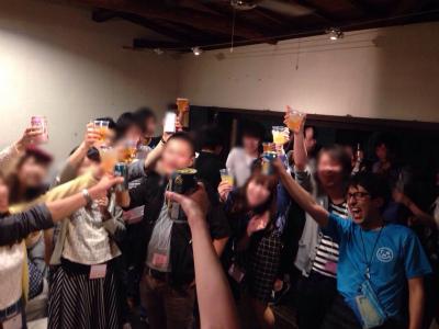 サタデーナイトパーティーin心斎橋開催様子