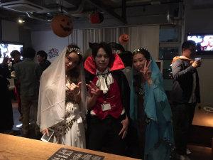 夜遊びハロウィンパーティーin福岡