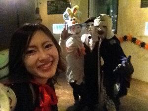 夜遊びハロウィン広島開催風景