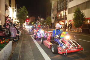 夜遊びハロウィン岡山開催風景