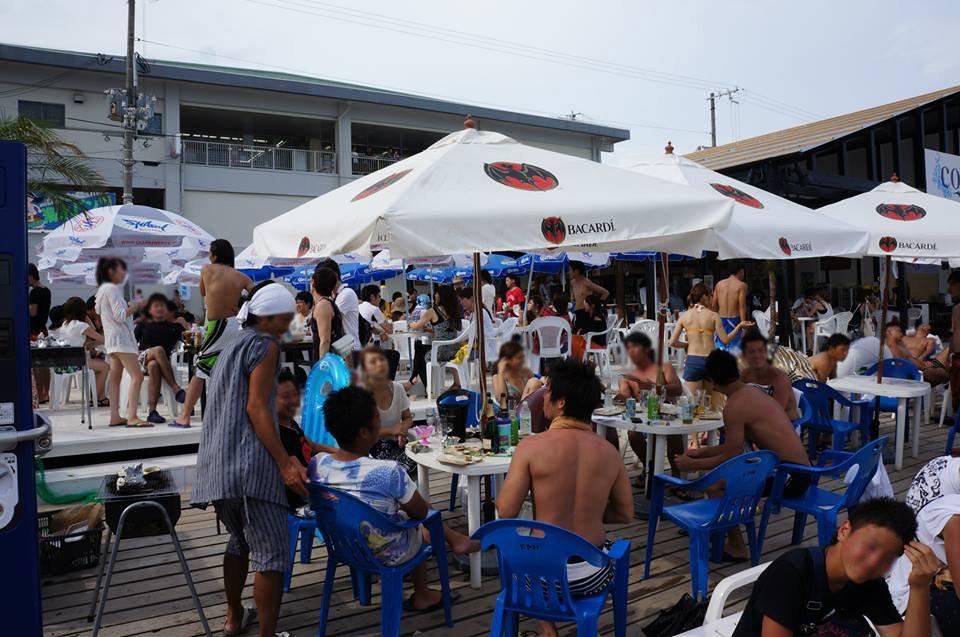 海の家BBQ開催風景