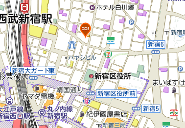 グラム地図