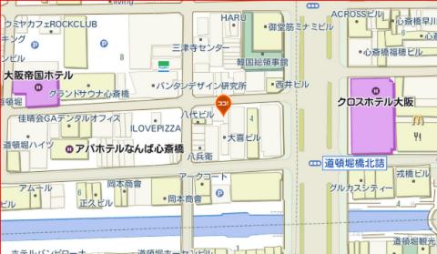 マゲイ(maguey)地図