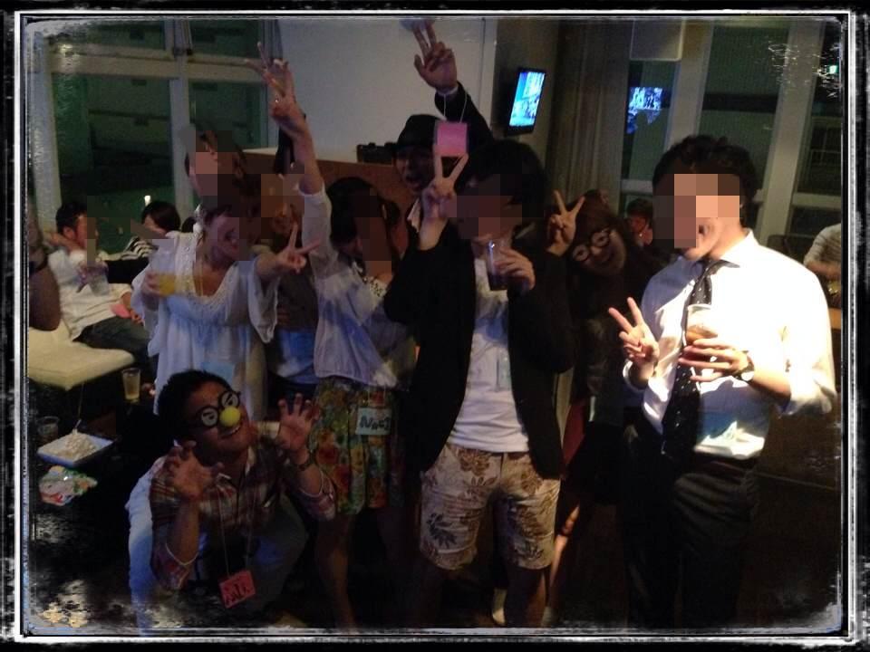 夜遊びパーティー天神開催の様子5