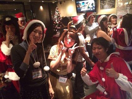 プレ夜遊びサンタパーティin大阪の様子