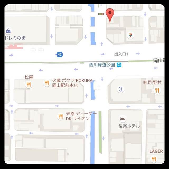 3.5f(サンテンゴエフ)地図
