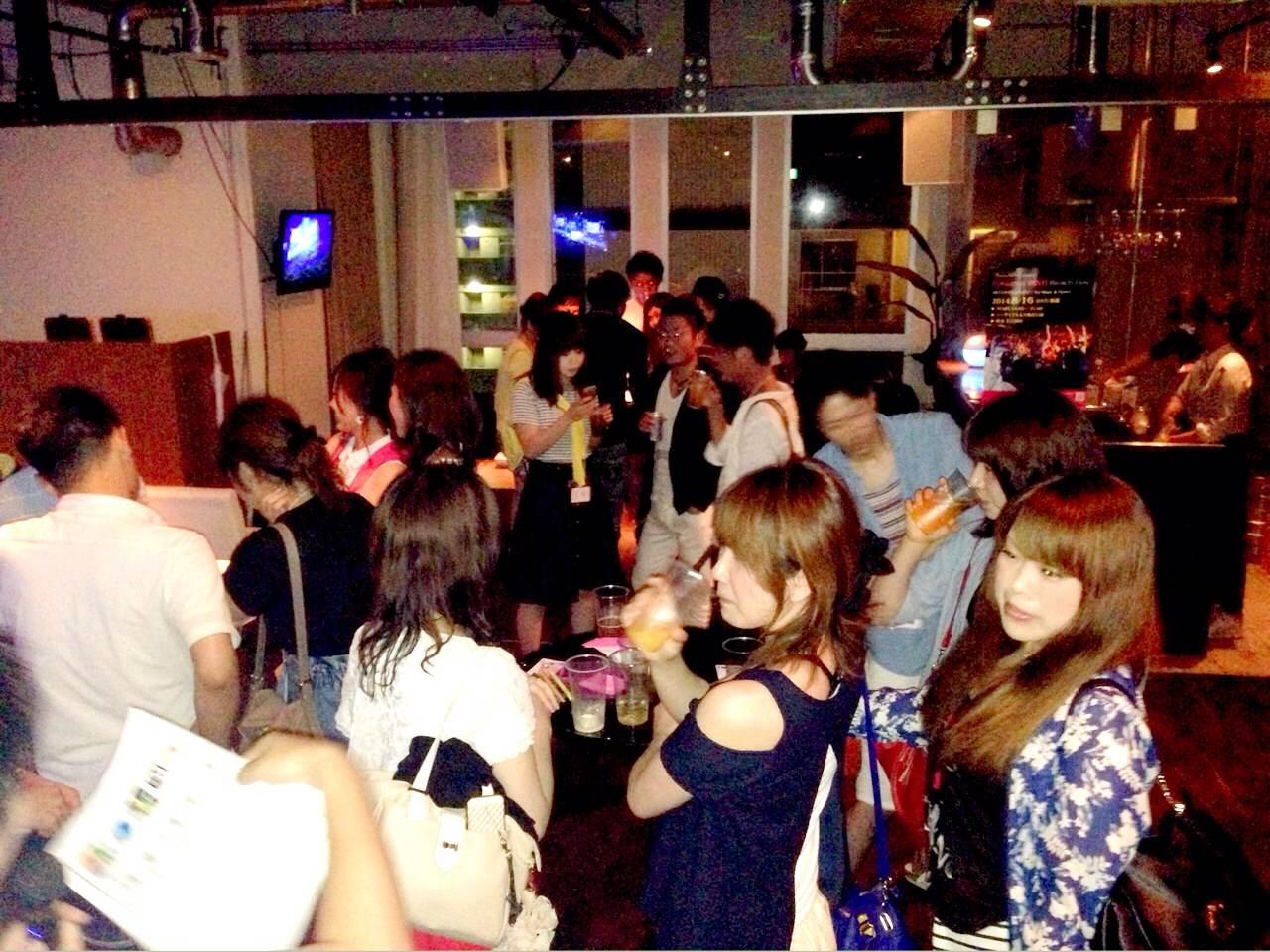 同世代パーティー開催風景