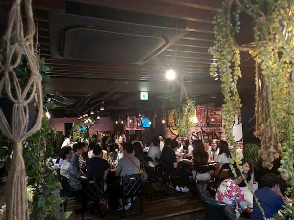 30代飲み会大阪9月15日の様子