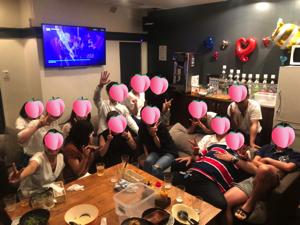 30代飲み会岡山8月31日開催の様子