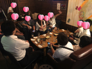 30代飲み会岡山開催の様子