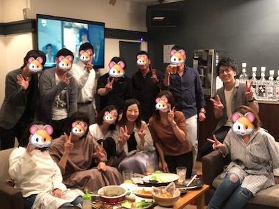 30代飲み会岡山9月25日開催の様子