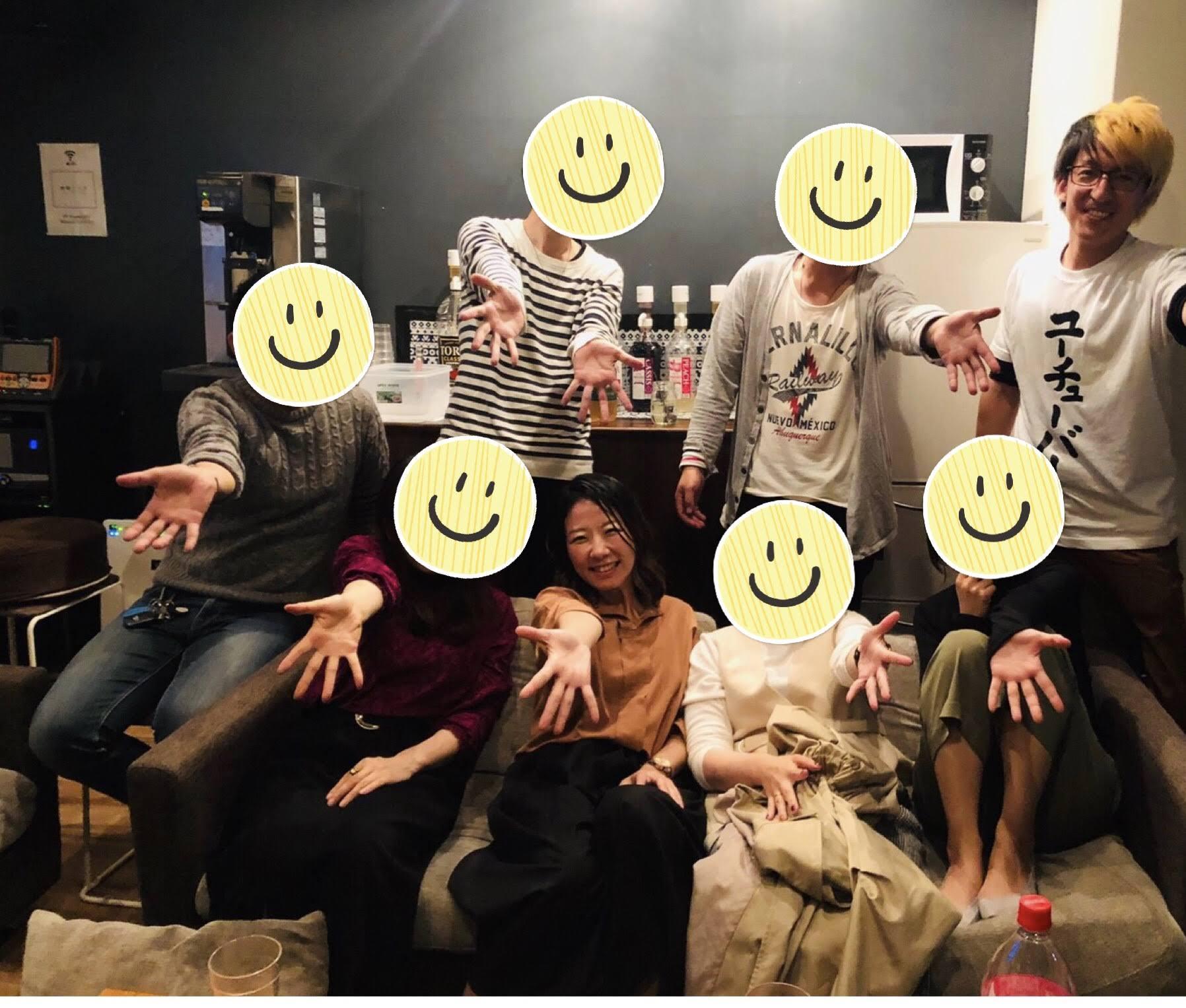 30代飲み会岡山10月18日開催の様子