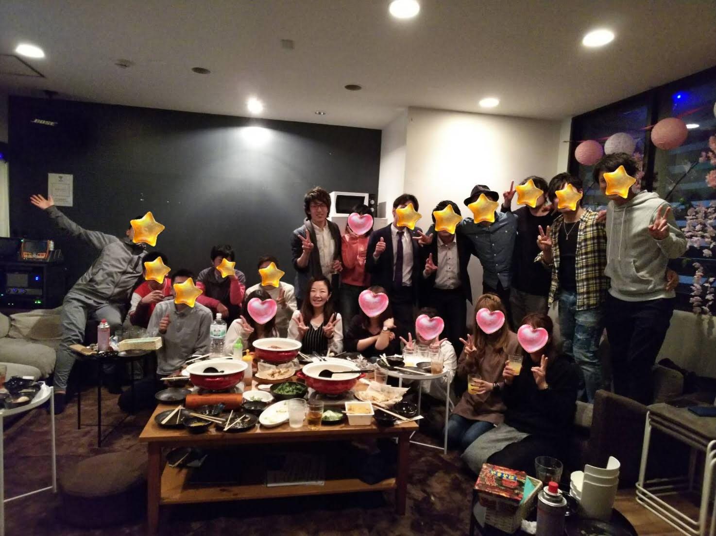 30代飲み会岡山3月19日開催の様子