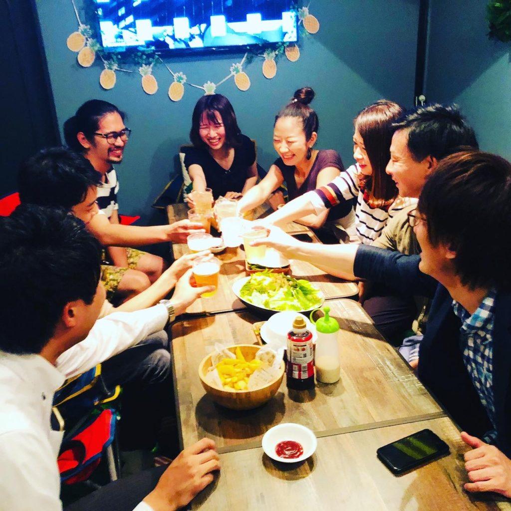 30代飲み会岡山6月26日開催の様子