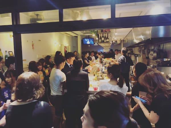 大規模パーティーの開催風景2