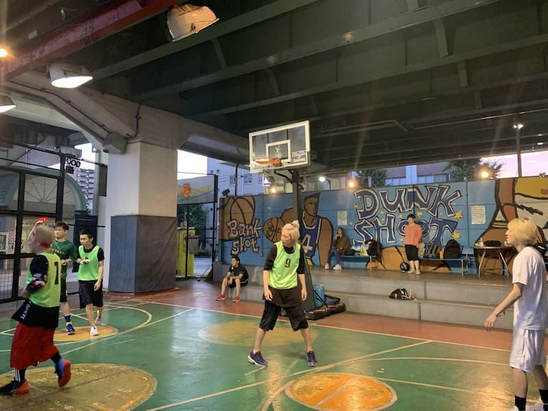 バスケ開催中写真1