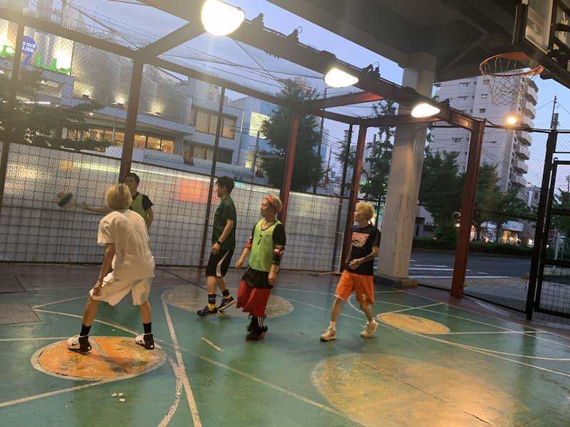 バスケ開催中写真2
