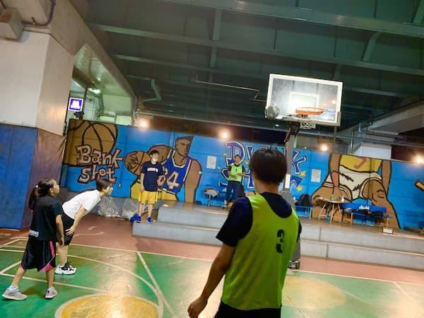 バスケ開催中写真3